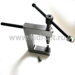 Заклепочник механический ручной КР-4 для установки полупустотелых заклепок Диаметром 4, 5, 6 мм №014004 УСИЛЕННЫЙ