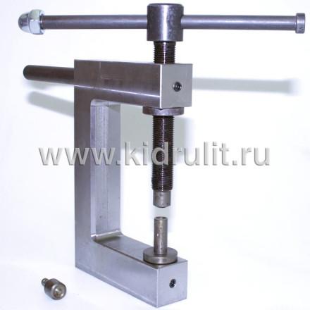 Заклепочник механический ручной КР-3 для установки полупустотелых заклепок Диаметром 4, 5, 6 мм №014003 УСИЛЕННЫЙ