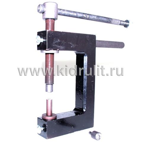 Заклепочник механический ручной КР-2 для установки полупустотелых заклепок Диаметром 4, 5, 6 мм №014002 УСИЛЕННЫЙ