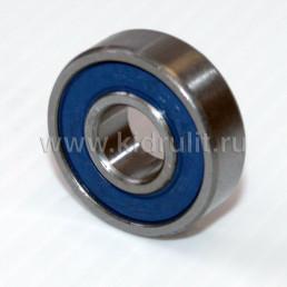 Подшипник 6000 2rs резиновый уплотнитель (вн.диаметр 10мм, наруж диам 26мм) №009006