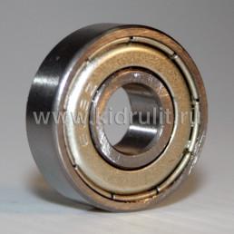 Подшипник 608 zz железная заглушка (вн.диаметр 8мм, наруж диам 22мм, ширина 7мм) №009008 для детской коляски