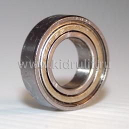 Подшипник 6800 zz (61800zz) железная заглушка (вн.диаметр 10мм, наруж диам 19мм, ширина 5мм) №009010 для детской коляски