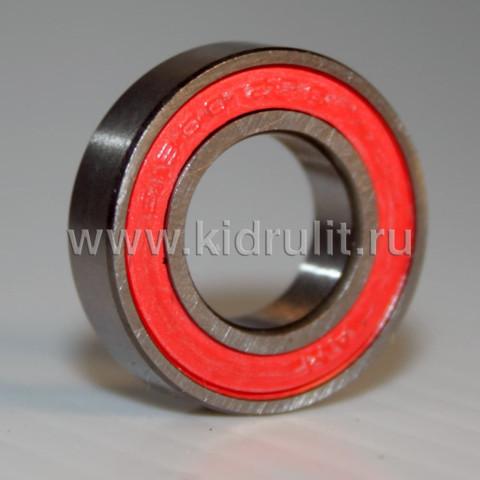 Подшипник 6800 2RS (618002RS) резиновый уплотнитель (вн.диаметр 10мм, наруж диам 19мм, ширина 5мм) №009012 для детской коляски