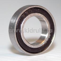 Подшипник 6801 2RS (618012RS) резиновый уплотнитель (вн.диаметр 12мм, наруж диам 21мм, ширина 5мм) №009013 для детской коляски