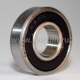 Подшипник R8 2RS резиновый уплотнитель (вн.диаметр 12,7мм, наруж диам 28,575мм, ширина 7,9375мм) №009014 для детской коляски