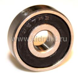 Подшипник 627-2rs  резиновый уплотнитель (вн.диаметр 7мм, наруж диам 22мм, ширина 7мм) №009016 для детской коляски