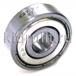 Подшипник 627-zz  железная заглушка (вн.диаметр 7мм, наруж диам 22мм, ширина 7мм) №009022 для детской коляски