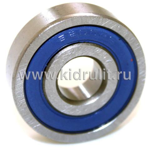 Подшипник 6200 2RS резиновый уплотнитель (вн.диаметр 10мм, наруж диам 30мм, ширина 9мм) №009028 для детской коляски