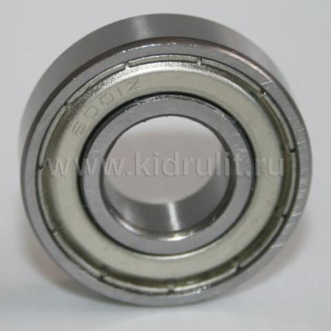 Подшипник 6001z железная заглушка (вн.диаметр 12мм, наруж диам 28мм) №009001