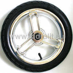 Колесо для детской коляски №005102 надув 13 дюймов (335х60-236)
