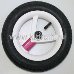 Колесо для детской коляски №026022 надув 10 дюймов (54-152) 10х2,0 (Adamex, BeBe-Mobile) РОЗОВЫЙ