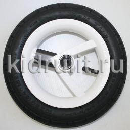 Колесо для детской коляски №026026 надув 10 дюймов (54-152) 10х2,0 (Adamex, BeBe-Mobile) ЧЕРНЫЙ