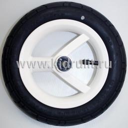 Колесо для детской коляски №026030 надув 10 дюймов (54-152) 10х2,0 (Adamex, BeBe-Mobile) БЕЛЫЙ