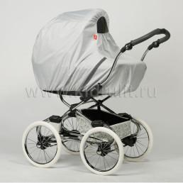 Чехол от дождя и снега на детскую коляску (ткань) Ruivo