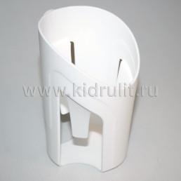 Держатель для детской бутылочки на коляску №002102 БЕЛЫЙ