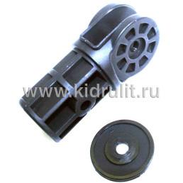 Соединитель для трубы (труба круг 30мм) №002122