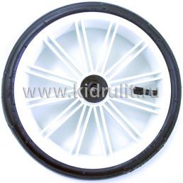 Колесо для детской коляски №003082 надув 10 дюймов (48х188) без вилки низкопрофильное (втулка на ось 8мм)