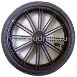 Колесо для детской коляски №003084 надув 10 дюймов (48х188) без вилки низкопрофильное (втулка на ось 8мм)