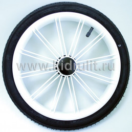 Колесо для детской коляски №003085 надув 14 дюймов (44-288) 14х1 3/8х1 5/8 с тормозной шестеренкой.