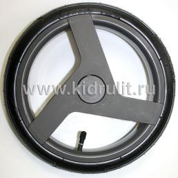 Колесо для детской коляски №003099 надув 12 дюймов (60-230) низкопрофильное ADAMEX (Адамекс) СЕРЫЙ