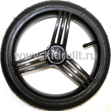 Колесо для детской коляски №022073 надув 12 дюймов (60-230) (без тормозной шестеренки) Bebetto (Бебетто) Цвет: ЧЕРНЫЙ