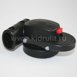 Крепление поворотного колеса №005014 ось12мм, труба 20х30мм