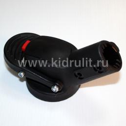 Крепление поворотного колеса №005057 ось12мм, труба 22мм