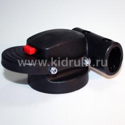 Крепление поворотного колеса №005056 ось12мм, труба 20мм