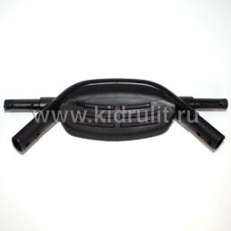 Подножка передняя профиль рамы 20х30мм, под крепление вилки 20х30мм №005079