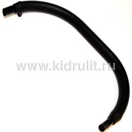 Ручка экокожа черная овал-овал 20/30-20/30мм №005082
