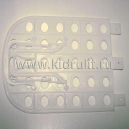 Спинка регулируемая для люльки детской коляски №005093 (белый)