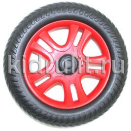 Колесо для детской коляски №005095 не надув, наружный диаметр 180 мм, на ось 8мм Цвет: КРАСНЫЙ