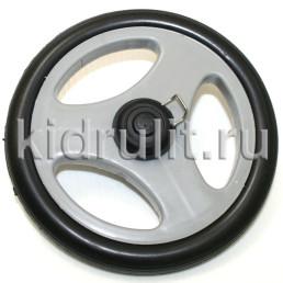 Колесо для детской коляски №005099 не надув, наружный диаметр 146 мм, на ось 8мм Цвет: СЕРЫЙ