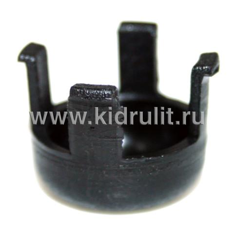 Кнопка механизма регулирования D=18,4мм №006087 (для подножки прогулочного блока)