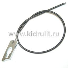 Тросик механизма складывания спинки прогулочного блока 398мм  №006090