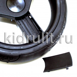 Накладка на колесо 12 дюймов №006132 ЧЕРНЫЙ