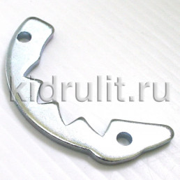 Гребенка механизма фиксации спинки прогулочного блока №006144