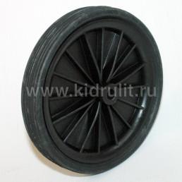 Колесо для детской коляски №001215 не надув, шина резина, 6 дюймов, на ось 10мм