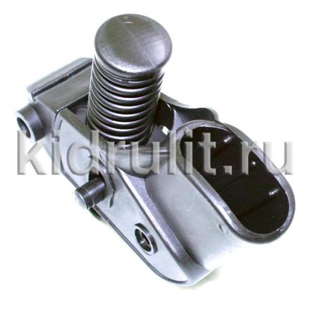 Амортизатор заднего колеса труба 44/18мм №001295 (черная пружина) для детской коляски