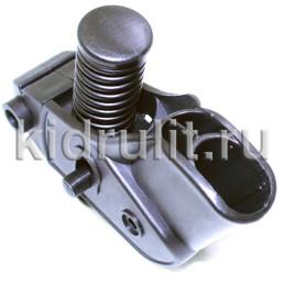 Амортизатор заднего колеса труба 20/30мм №001296 (черная пружина) для детской коляски