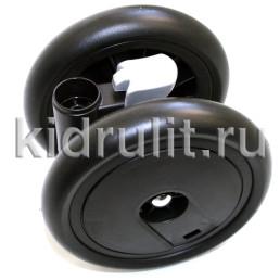Колесо для детской коляски (передний колесный блок)  №031005 не надувное 6 дюймов Peg-perego ARIA SHOPPER