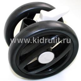 Колесо для детской коляски (передний колесный блок)  №031012 не надувное 7 дюймов Peg-perego PLIKO P3