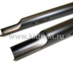 Труба диаметр 30мм для рамы коляски №035001 (комплект) Длина: 490мм. Цвет: Черный